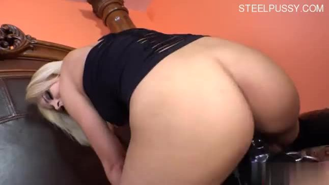 Attractive chubby blonde Embry Prada takes a long ride on her boyfriends cock.