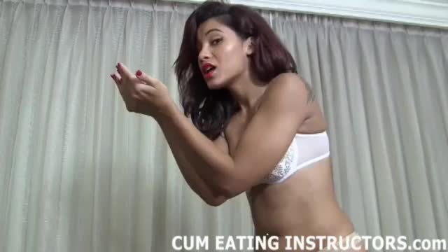 Eat your cum for me CEI